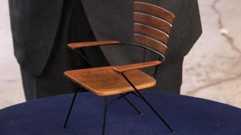 Antiques Roadshow -- S19 Ep23: Appraisal: Chair with Model Chair, ca. 1950