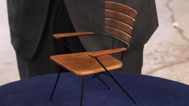 Appraisal: Chair with Model Chair, ca. 1950