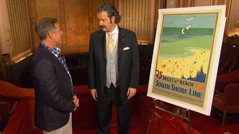 Antiques Roadshow -- S19 Ep23: Field Trip: Chicago Transit Posters