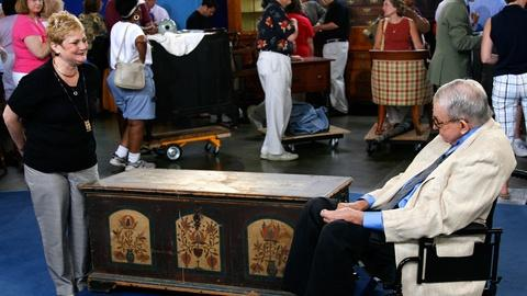 Antiques Roadshow -- S11 Ep4: Appraisal: 1794 Pennsylvania-German Dowry Chest