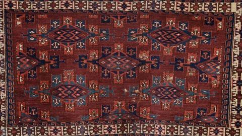Antiques Roadshow -- S19 Ep24: Appraisal: Yomud Turkmen Chuval, ca. 1860