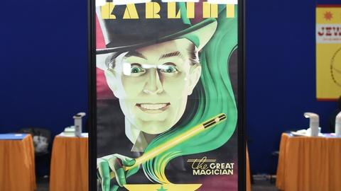 """Antiques Roadshow -- S19 Ep24: Appraisal: 1930 """"The Great Karlini"""" Poster"""