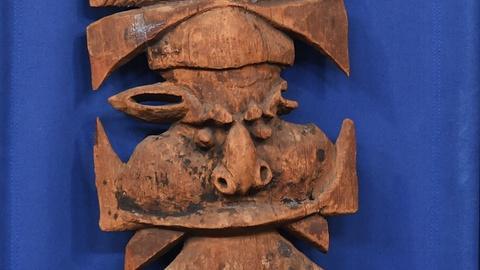 Antiques Roadshow -- S19 Ep24: Appraisal: 19th-Century New Caledonian Kanak Finia