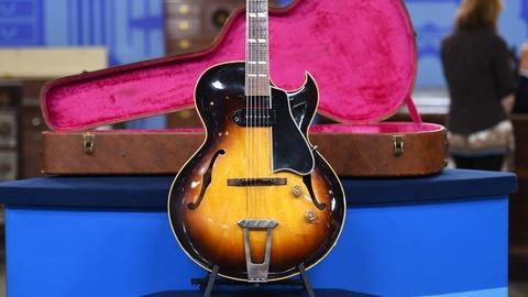 Antiques Roadshow -- S19 Ep24: Appraisal: 1954 Gibson ES-175 Guitar with Case