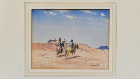Antiques Roadshow -- S19 Ep24: Appraisal: Edward Borein Watercolor, ca. 1930