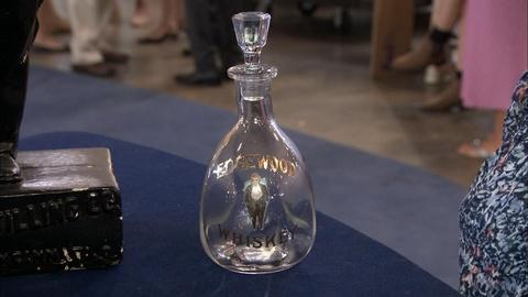 Antiques Roadshow -- S19 Ep24: Appraisal: Edgewood Whiskey Advertising Objects
