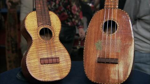 Appraisal: Leonardo Nunes Ukulele and Kamaka Ukulele