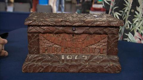 Antiques Roadshow -- S19 Ep32: Appraisal: 1863 S.D. Ramsdell Carved Wooden Box