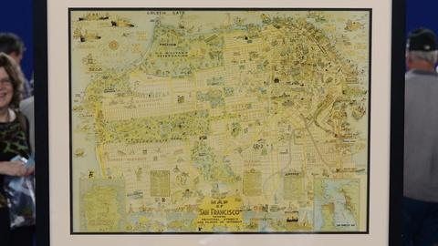 Antiques Roadshow -- S19 Ep32: Appraisal: 1925 San Francisco Pictorial Map