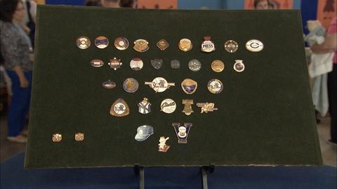 Antiques Roadshow -- S19 Ep32: Appraisal: 20th-Century Professional Sports Pins