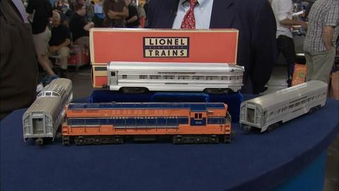 Antiques Roadshow -- S19 Ep33: Appraisal: Lionel New Jersey Central Train Set, ca