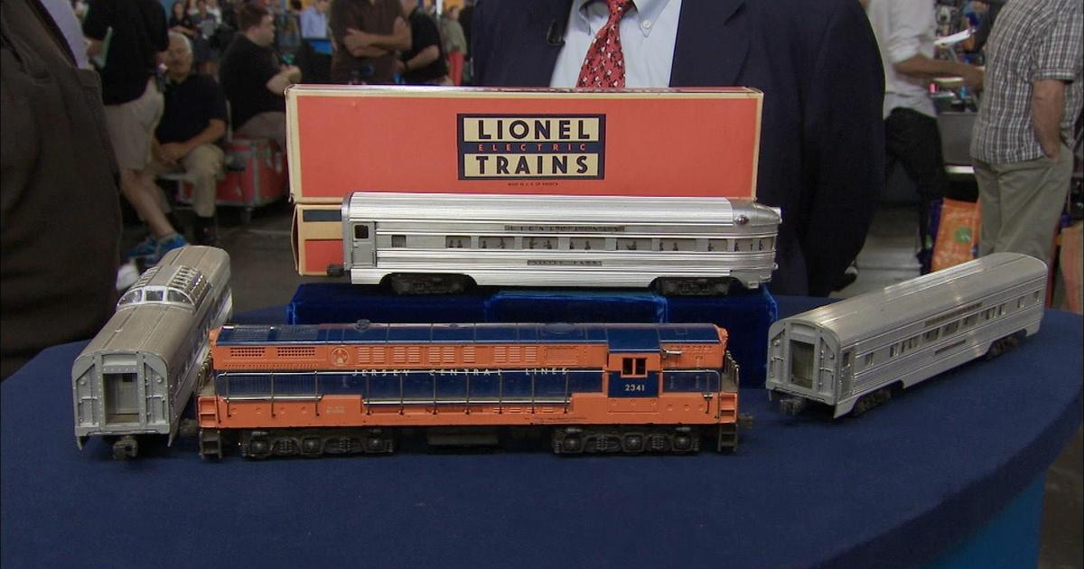 Raisal Lionel New Jersey Central Train Set Ca 1955 Antiques Roadshow Pbs