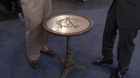 Antiques Roadshow -- S19 Ep33: Appraisal: French Inlaid Presentation Table, ca. 1