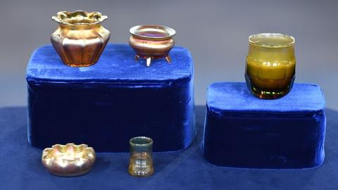 Antiques Roadshow -- S19 Ep33: Appraisal: Tiffany Favrile Glass Vessels