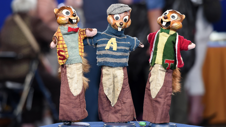 Appraisal Alvin Amp The Chipmunks Puppets Ca 1958