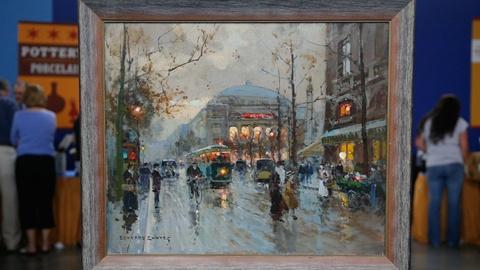 Antiques Roadshow -- S13 Ep15: Appraisal: 1959 Édouard Cortès Oil Painting