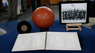 Appraisal: 1956 Olympics USA Basketball Memorabilia