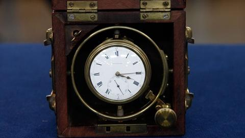 Antiques Roadshow -- S19 Ep35: Appraisal: Thomas Earnshaw Marine Chronometer, ca.