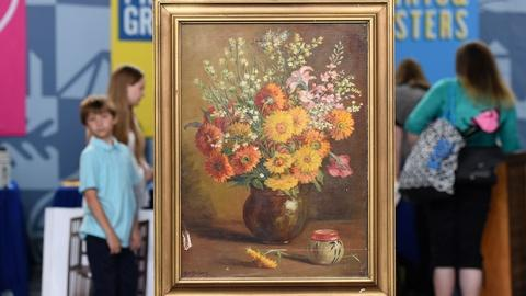 Antiques Roadshow -- Appraisal: Marie Seebold Molinary Oil, ca. 1930