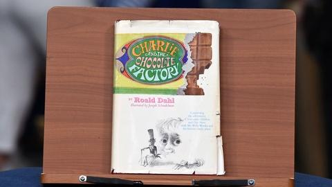 "Antiques Roadshow -- Appraisal: 1964 Inscribed ""Charlie & the Chocolate Factory"""