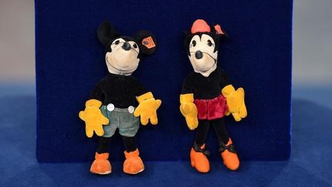 Antiques Roadshow -- Appraisal: Steiff Mickey & Minnie Mouse Dolls, ca. 1935