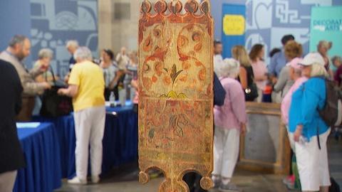 Antiques Roadshow -- Appraisal: 19th-Century Scandinavian Tape Loom