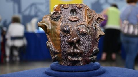 Antiques Roadshow -- S20 Ep2: Appraisal: Grotesque Face Jug, ca. 1900