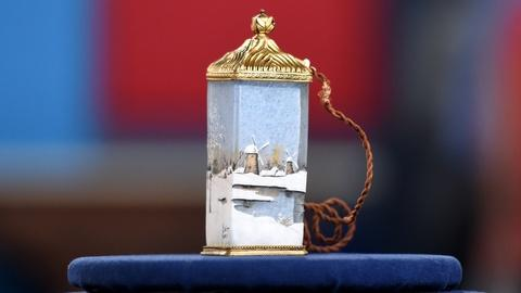 Antiques Roadshow -- S20 Ep2: Appraisal: Daum Nancy Perfume Lamp, ca. 1910