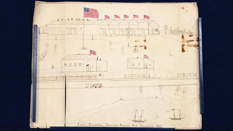 Antiques Roadshow -- S20 Ep2: Appraisal: 1862 Wisconsin Civil War Camp Drawing