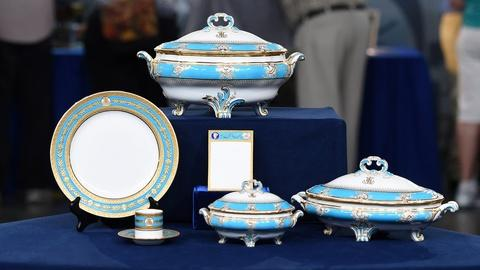 Antiques Roadshow -- Appraisal: Minton China Set, ca. 1890