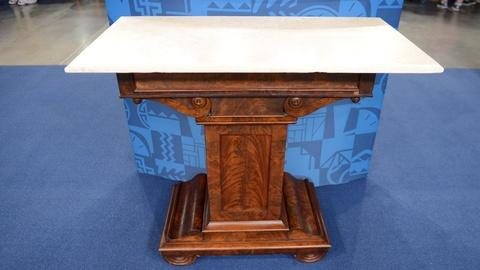 Antiques Roadshow -- Appraisal: Classical Boston Mixing Table, ca. 1820