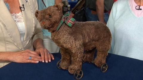 Antiques Roadshow -- Appraisal: Blank Button Steiff Bear, ca. 1905