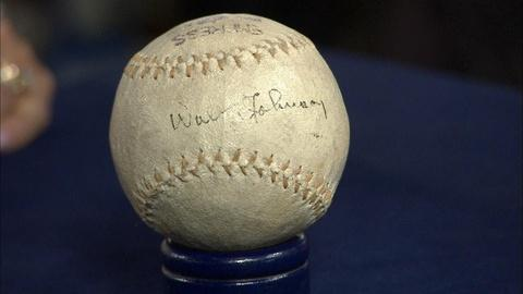 Antiques Roadshow -- Appraisal: Walter Johnson-Signed Baseball, ca. 1920
