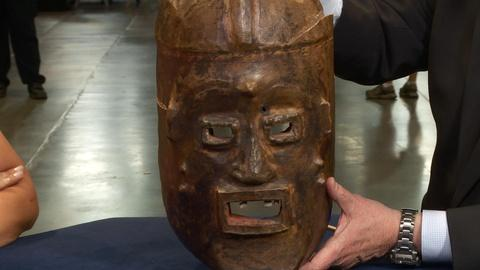 Antiques Roadshow -- S20: Web Appraisal: 20th Century Widekum Funerary Mask