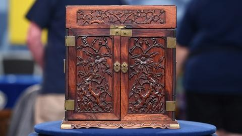 Antiques Roadshow -- S20 Ep3: Appraisal: Chinese Huanghuali Cosmetic Case, ca. 17