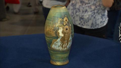 Antiques Roadshow -- Appraisal: Amphora Porcelain Art Nouveau Vase, ca. 1900