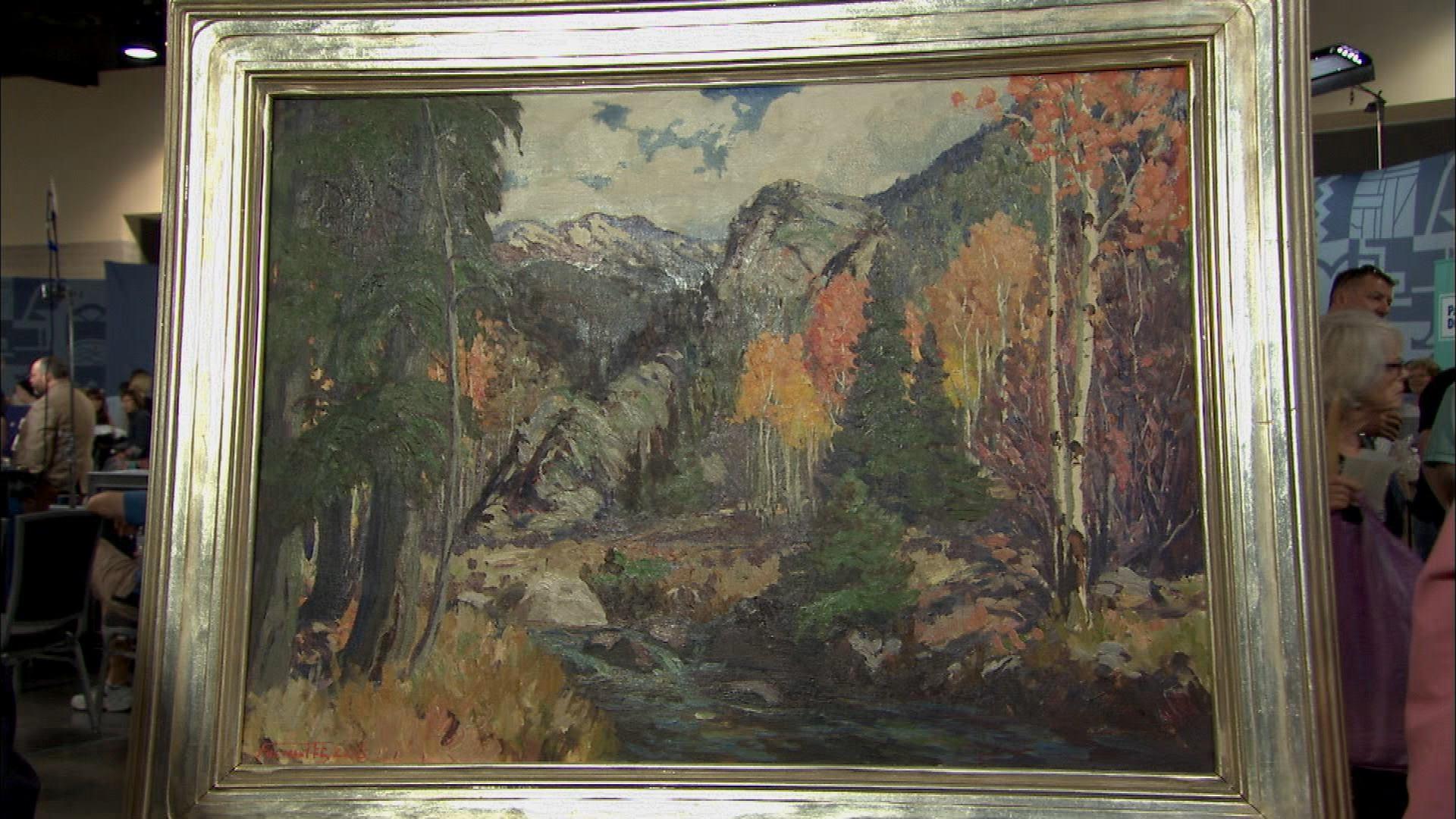 Spokane Oil Painting