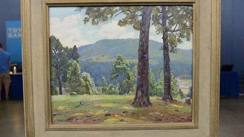 Antiques Roadshow -- S20 Ep4: Appraisal: Olin Travis Ozark Hilltop Painting, ca.