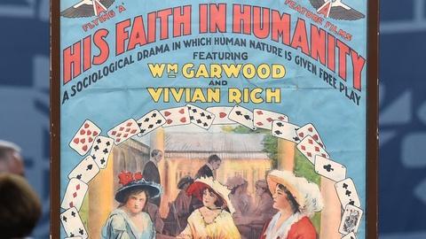 Antiques Roadshow -- S20 Ep4: Appraisal: 1914 Silent Era Movie Poster