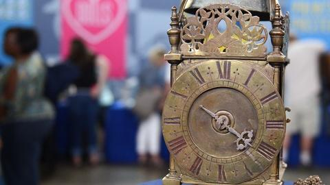 Antiques Roadshow -- S20 Ep4: Appraisal: English Lantern Clock, ca. 1670