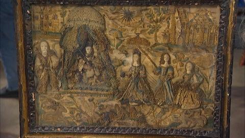 Antiques Roadshow -- S20 Ep4: Appraisal: English Stumpwork Embroidery, ca. 1660
