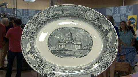 Antiques Roadshow -- S20 Ep4: Appraisal: Ashworth Staffordshire Platter, ca. 1850