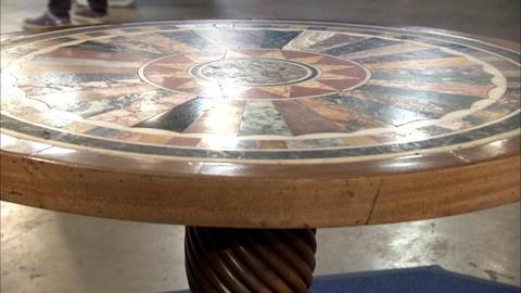 Antiques Roadshow -- S20 Ep4: Appraisal: Specimen Marble Top Table, ca. 1865