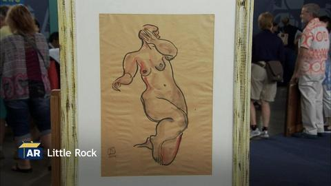 Antiques Roadshow -- S20 Ep4: Appraisal: Chang Yu Sanyu Nude Female Painting, ca.
