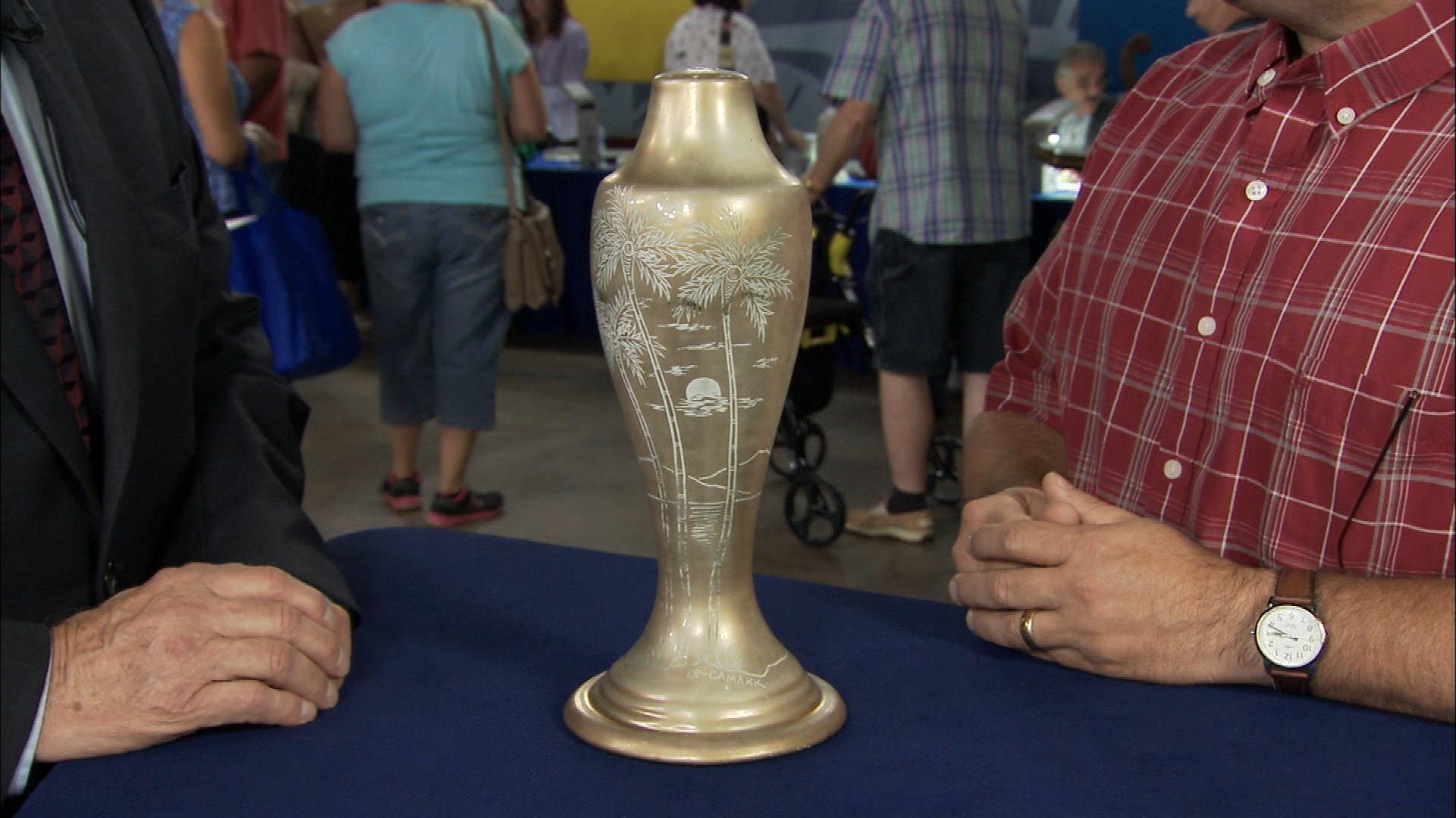Antiques Roadshow Appraisal Le Camark Lamp Vase Ca
