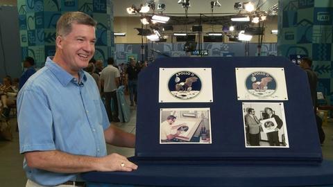Antiques Roadshow -- S20 Ep5: Owner Interview: 1969 Apollo 11 Logo-Design Archive