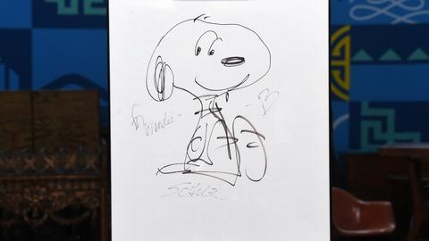 Antiques Roadshow -- S20 Ep6: Appraisal: 1985 Charles Schulz Snoopy Sketch