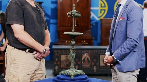 Antiques Roadshow -- S20 Ep7: Appraisal: Caldwell & Co. Lamp Base, ca. 1920