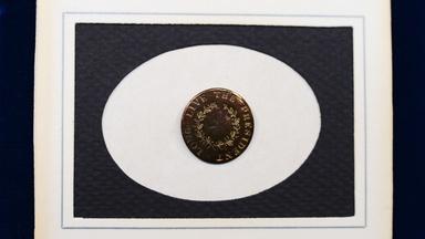 Appraisal: 1789 George Washington Inaugural Button