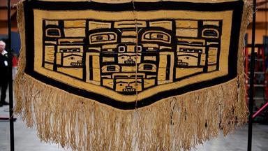 Appraisal: Tlingit Chilkat Weaving, ca. 1915